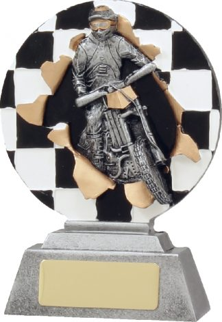 22168A Motor Sports trophy 130mm