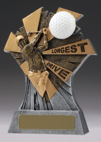 23069B Golf trophy 155mm