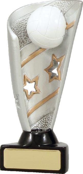 27137A Netball trophy 135mm