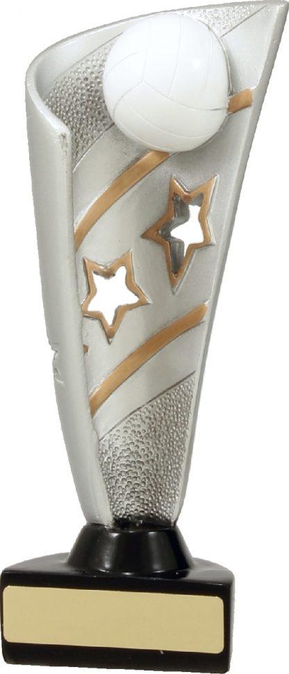 27137C Netball trophy 205mm