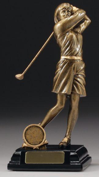 A042 Golf trophy 230mm