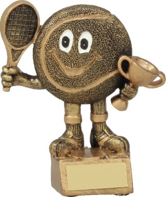 A1122A Tennis trophy 130mm