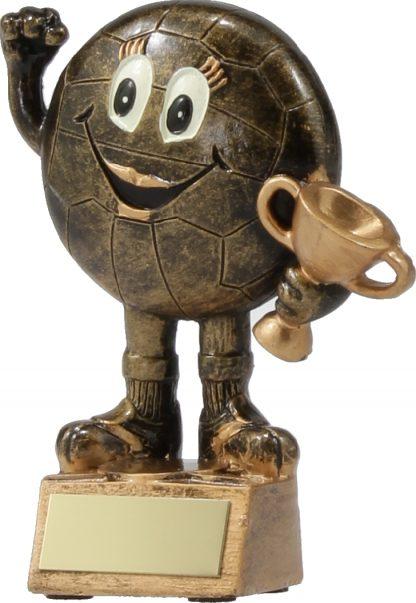 A1191A Netball trophy 130mm