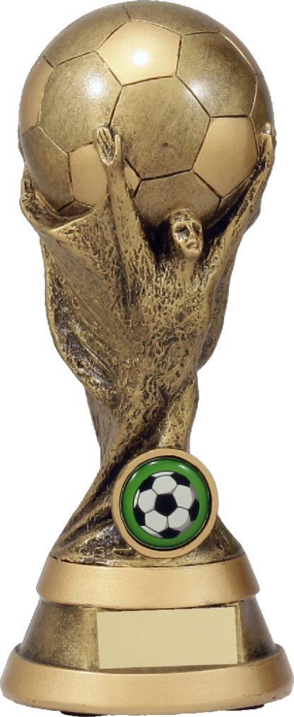 A1215B Soccer trophy 195mm