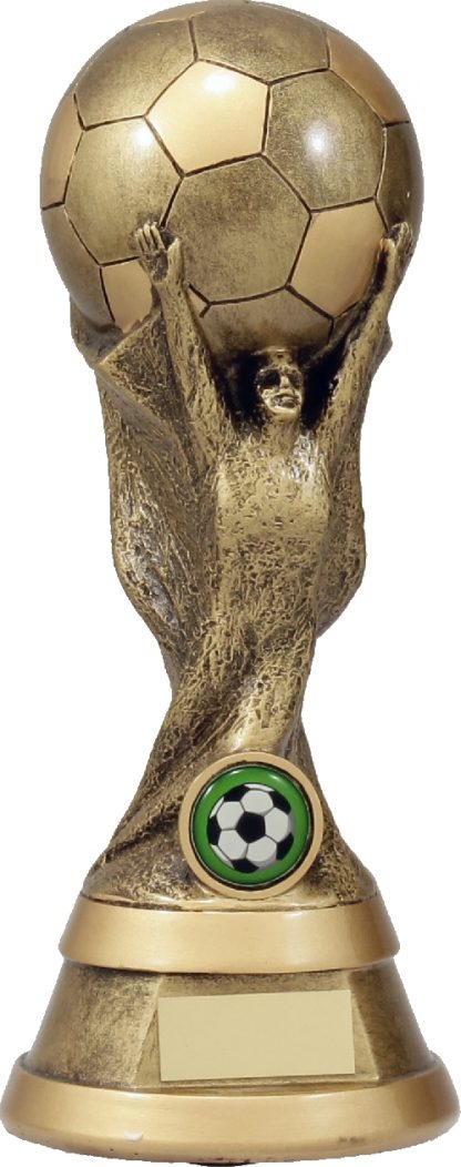 A1215C Soccer trophy 230mm