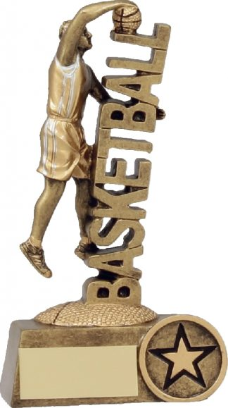 A1242A Basketball trophy 140mm