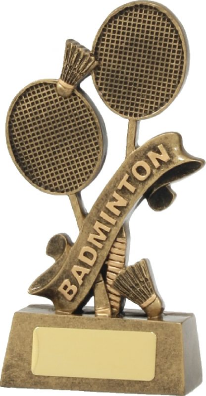A1246A Badminton trophy 160mm