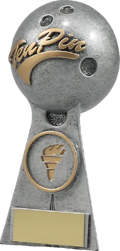 A1253A Ten Pin trophy 130mm