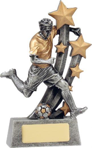 A1289A Soccer trophy 160mm