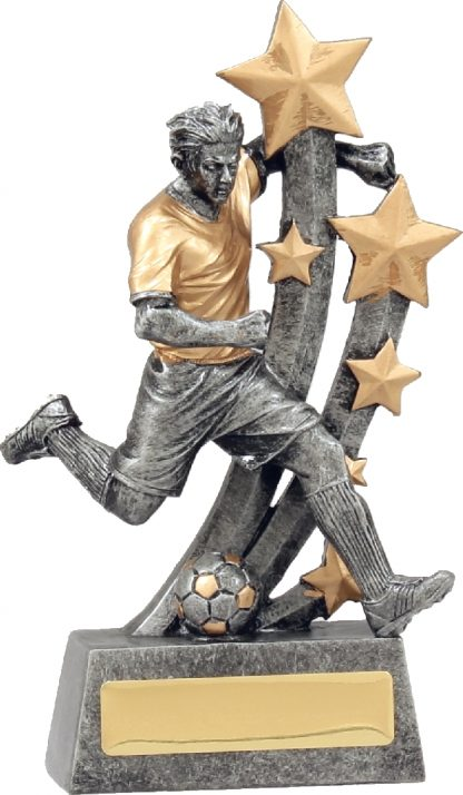 A1289B Soccer trophy 185mm