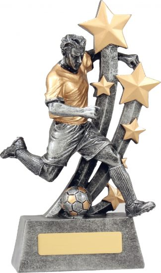 A1289C Soccer trophy 225mm