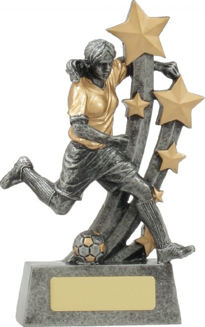 A1320A Soccer trophy 160mm