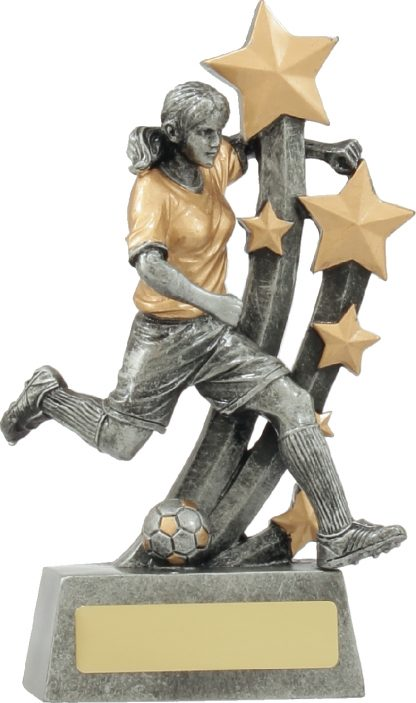 A1320B Soccer trophy 185mm