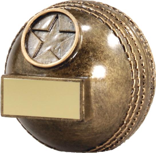 A1332C Cricket trophy 72mm