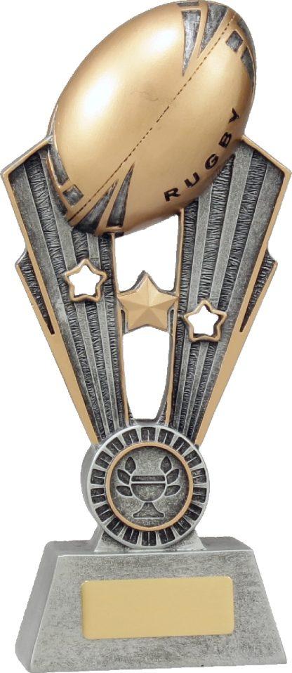 A1371B Rugby trophy 220mm