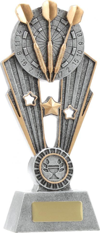 A1372B Darts trophy 220mm