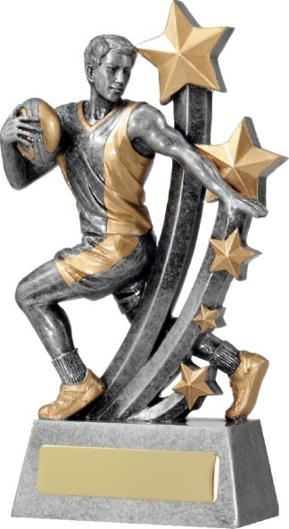 A1393B Touch Football trophy 195mm