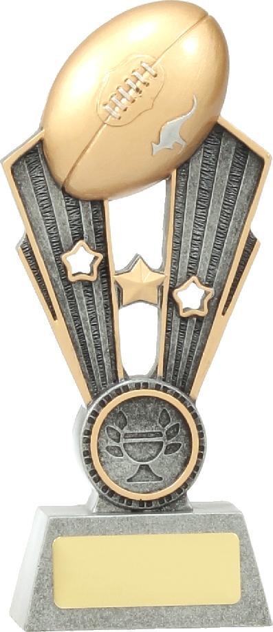 A1401AA Australian Rules (AFL) trophy 170mm