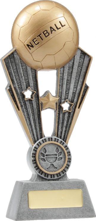 A1403A Netball trophy 195mm