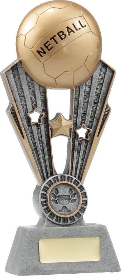 A1403B Netball trophy 220mm