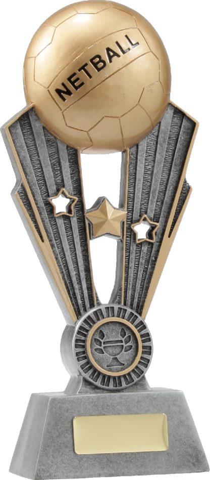 A1403C Netball trophy 245mm
