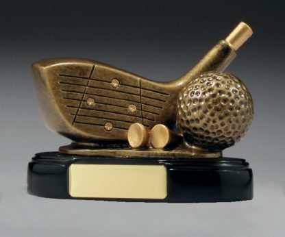 A243 Golf trophy 90mm