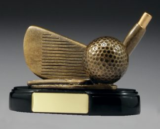 A244 Golf trophy 90mm
