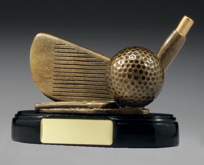 A244 Golf trophy 90mm