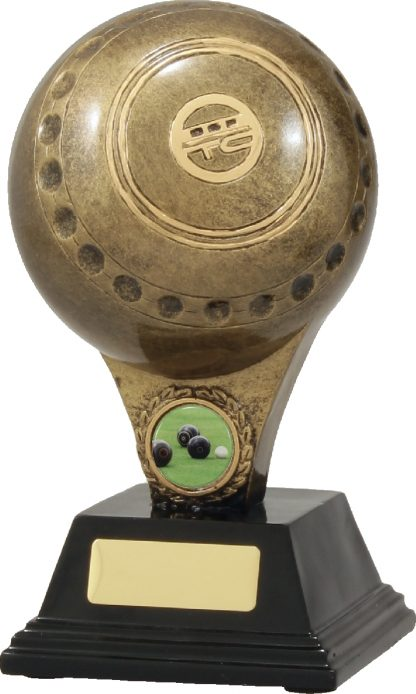 A272B Lawn Bowls trophy 200mm