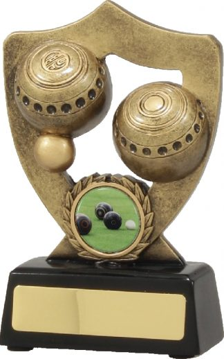 A341A Lawn Bowls Trophy 140mm