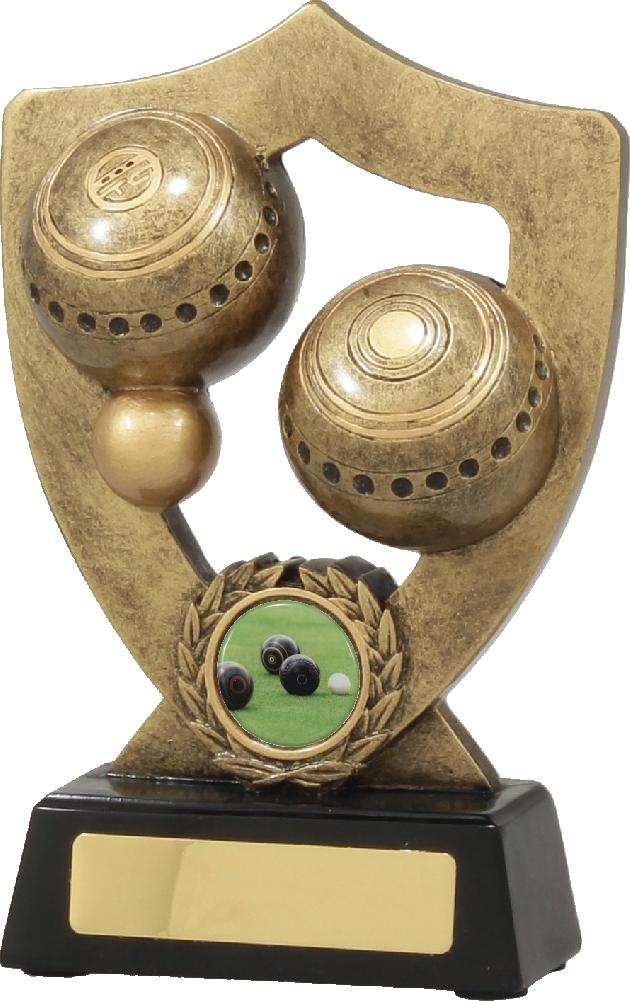 A341B Lawn Bowls Trophy 180mm