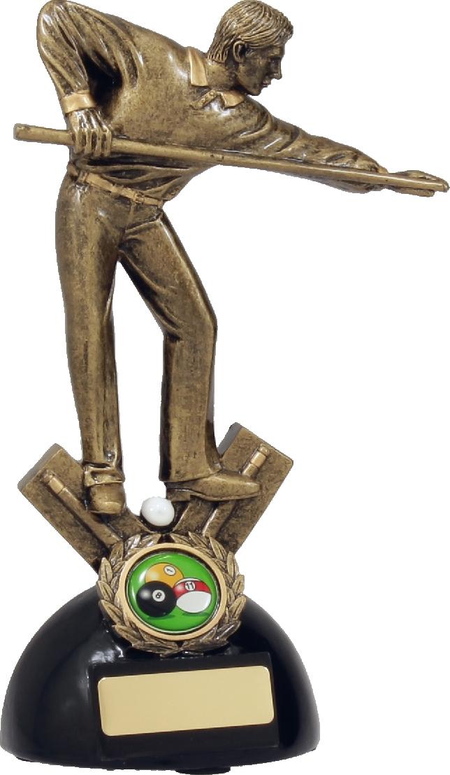 A825C Snooker Trophy 215mm
