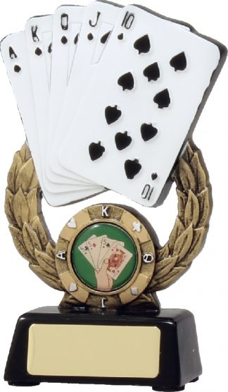 A897A Chess - Cards Trophy 145mm