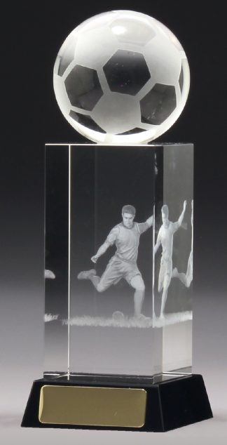 CH880L Soccer Trophy 180mm