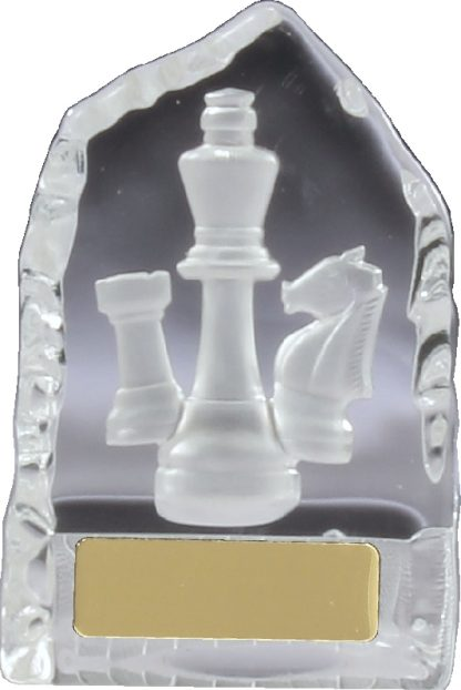CN878 Chess - Cards Trophy 110mm