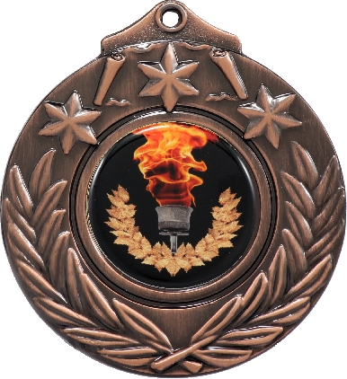 M841B Medals and keyrings trophy 50mm
