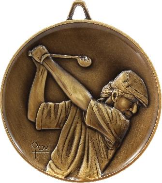 M9217 Golf trophy 64mm