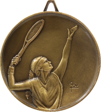 M9223 Tennis trophy 64mm
