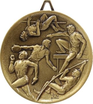 M9258 Athletics trophy 64mm