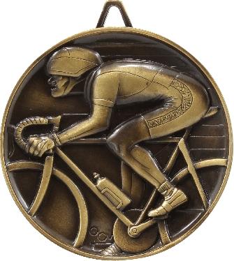 M9264 Cycling trophy 64mm