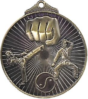 MD923G Martial Arts trophy 52mm