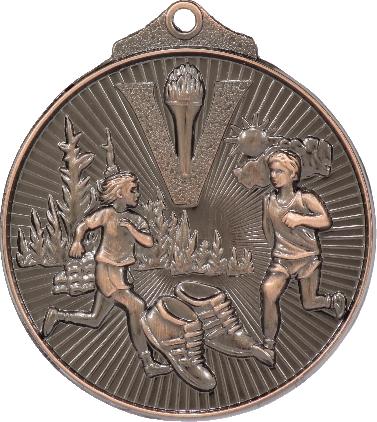 MD925B Athletics trophy 52mm