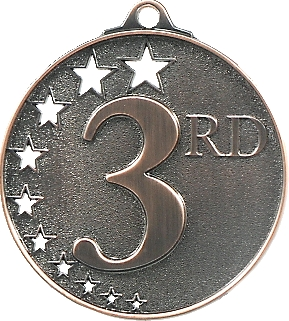 MH953B Medals and keyrings trophy 52mm