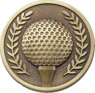 MJ17G Golf trophy 60mm