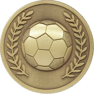 MJ80G Soccer trophy 60mm