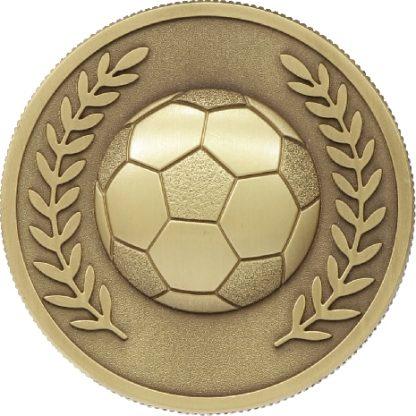 MJ80G Soccer trophy 60mm
