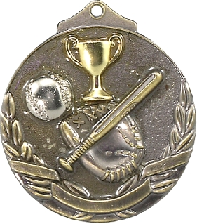 MT903G Baseball - Softball Trophy 50mm