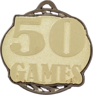 MV050G Soccer trophy 55mm
