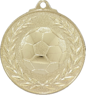 MX904 Soccer Medal 50mm New 2015