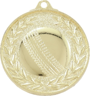MX910 Cricket Medal 50mm New 2015